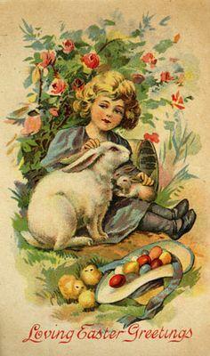Vintage Easter Greetings