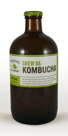 Nutritonic Brew Dr. Kombucha – loaded with organic herbs that help maintain health and wellness.
