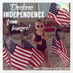 Happy Independence Day from No Kid Hungry!