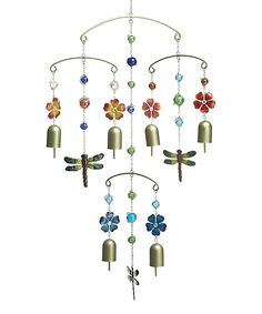 Another great find on #zulily! Dragonfly Multi-Tier Wind Chime by Transpac Imports #zulilyfinds