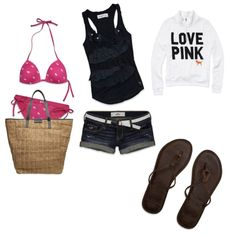 Summers coming, keep your bikini in your bag!