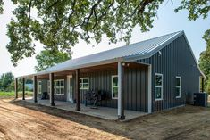 Check out this Decatur Barndominium – Metal Home Built by HL Custom Homes Barn Homes Floor Plans, Barndominium Floor Plans, Barn House Plans, House Floor Plans, Metal Building House Plans, Building Ideas, Pole Barn Homes, Steel House, Home Plans
