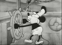 OLD MICKEY MOUSE GIF | old mickey - Classic Disney Photo (31568393) - Fanpop