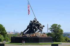 USMC War Memorial - Iwo Jima Sculpture Washington, DC