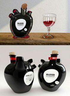 wine bottles don't need to be wine bottles. consider slang - packaging design inspiration.