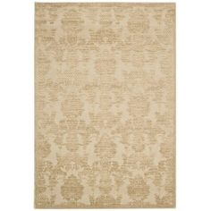 Crawley rug in gold by Ballard Designs