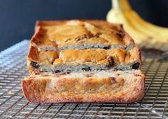Secretly Healthy Banana Bread (Gluten Free, Oil Free and Refined Sugar Free!) | Bakerita.com