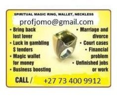 MAGIC RING OF WONDERS CALL TO ORDER NOW +27734009912
