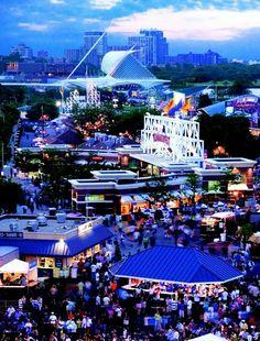 Milwaukee, Wisconsin USA Summerfest