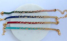 Bead Loom Designs, Socrates, Bead Embroidery Jewelry, Boutique Etsy, Brick Stitch, Loom Beading, Other Accessories, Friendship Bracelets, Beaded Bracelets