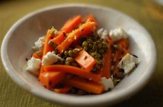 Mung Bean and Carrot Salad – The Herby Kitchen