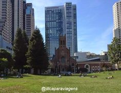 Yerba Buena Gardens in San Francisco #yerbabuenagardens #alwayssf #sanfrancisco #california #blogdicaparaviagens