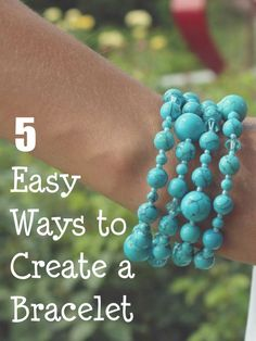 Making your own bracelets is a great way to get exactly the kind of accessories you've always wanted, at a portion of the price. Discover 5 fun ideas for how to make bracelets that look just as professional as anything you would buy at the store.