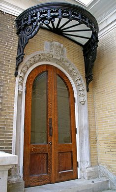 French Lick, Indiana~French Lick Springs Hotel Door photo by Atelier Teee, via Flickr