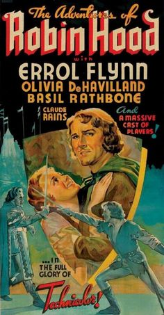 The Adventures of Robin Hood was a spectacular showcase for the new three-strip Technicolor process. It remains an outstanding example.