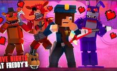 Minecraft: FIVE NIGHTS AT FREDDY'S #50 - ANIMATRONICS APAIXONADOS PELA VIGIA?
