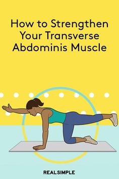 How to Strengthen Your Transverse Abdominis Muscle - Ab Workout & Fitness Transverse Abdominal Exercises, Abdominal Muscles, Ab Core Workout, Best Ab Workout, Workout Men, Effective Ab Workouts, Fun Workouts, Muscle Fitness, Fitness Tips