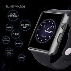 This watch works as an accessory to your ANDROID or IOS DEVICE or as a Phone (SIMCARD-REQUIRED). The features for each will be listed below.