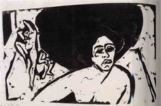 Ernst Ludwig Kirchner-1880 to 1938-Expressionist-Art Review by Donald Goddard
