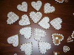 None Gingerbread, Cookies, Lace, Inspiration, Chip Cookies, Biscuits, Biblical Inspiration, Lace Making, Cookie Recipes