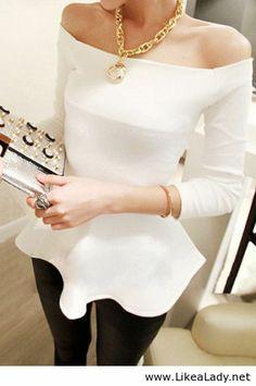 Beautiful white top