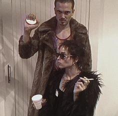 Zoë Kravitz and Karl Glusman (Halloween 2017)
