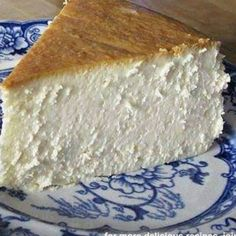 The Best New York Cheesecake (did you notice? there is no crust!! :D)