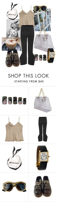 """""""come to my store i'll make you coffee"""" by syarina ❤ liked on Polyvore featuring Style Stalker, Chanel, Etro, STELLA McCARTNEY, Balenciaga, Christian Lacroix and Dr. Martens"""