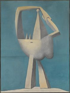Pablo Picasso - Nude Standing by the Sea, 1929. Oil on canvas