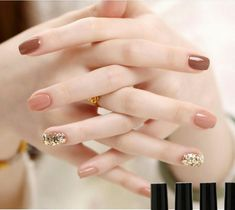 16 Stunning Nail Art Trend Ideas for .Are you looking for nail colors design for winter? See our collection full of cute winter nail colors design ideas and get inspired! Nail Art Designs, Colorful Nail Designs, Nails Design, Minimalist Nails, Minimalist Fashion, Nail Swag, Korean Nail Art, Korean Nails, Black Nail Art