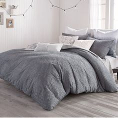 Beautiful Shanell Fringe Comforter Set by Three Posts Teen Bedding Sale from top store Ruffle Bedding, King Comforter Sets, Bedding Sets, Teen Bedding, Single Duvet Cover, Duvet Cover Sets, Cotton Duvet, Modern Rustic Interiors