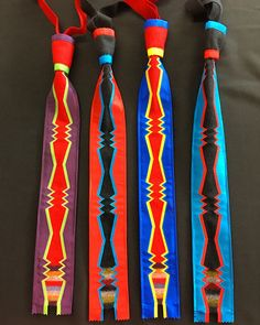 New broadcloth and ribbon work ties are now out for sale at sharp's! Www.sharpsindianstore.com Indian Beadwork, Native Beadwork, Native American Beadwork, Sewing Tutorials, Sewing Crafts, Sewing Projects, Sewing Patterns, Beaded Purses, Beaded Jewelry