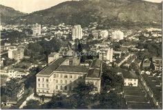 Colégio Santo Inácio, anos 40. Rua São Clemente, Botafogo
