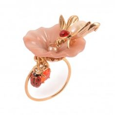 Les Nereides 'Belle Saison' flower ring £65.00