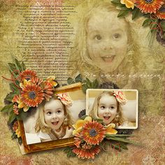 """Digital scrapbook layout using kit """"Rejuvenation"""" by Designs by Helly."""