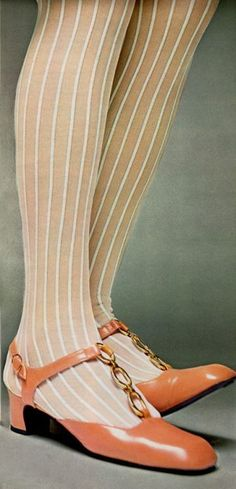 Shoes & stockings, '60's style