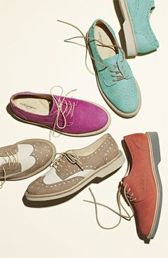 Colored Oxfords