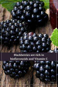#Blackberries fight free radicals, keep you healthy, and keep your skin looking young and fresh