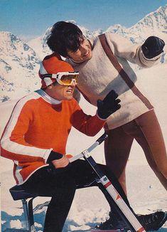 Spinnerin - On The Slopes – Voices of East Anglia Alpine Skiing, Snow Skiing, Ski Ski, Vintage Ski, Vintage Travel Posters, Best Ski Goggles, Ski Fashion, Sporty Fashion, Fashion Women