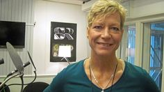 Lena Matthijs - aktuell med två böcker. Foto: Amanda Petersson.