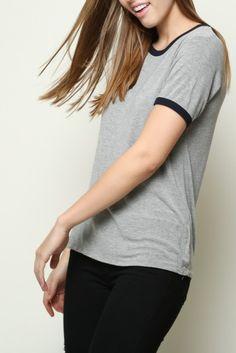 Brandy ♥ Melville   Jessica Top - this shirt looks flattering
