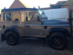 The newest addition. Defender 90 XS SW. Corris grey with the black pack