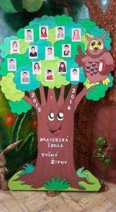 Classroom Tree, Preschool Classroom Decor, Class Decoration, School Decorations, Owl Crafts, Crafts For Kids, Art Activities, Toddler Activities, Cardboard Tree