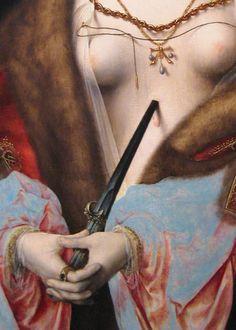 Joos van Cleve - Lucretia, 15th - 16th century