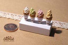 Miniature food ice cream  ~ by Atolie