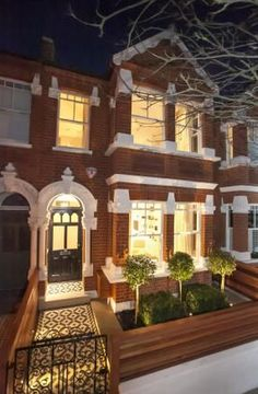 4 bedroom terraced house for sale in St Albans Avenue, London - Rightmove. Victorian Front Garden, Victorian Front Doors, Victorian Terrace House, Victorian Homes, Victorian House London, 1930s House, Terraced House, Style At Home, Edwardian Haus