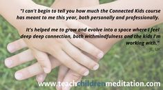 what people say about connected kids. Help Me, Teenagers, To Tell, Meditation, Told You So, Mindfulness, Feelings, Sayings, People