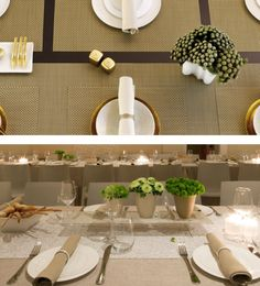 Beautiful Chilewich tabletop pieces