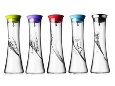 Colorful Glass Water Jug