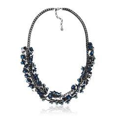 Lazara Design, marca expositora da Feira Bijoias. colar, maxi colar, acessório, fashion, fashion jewelry